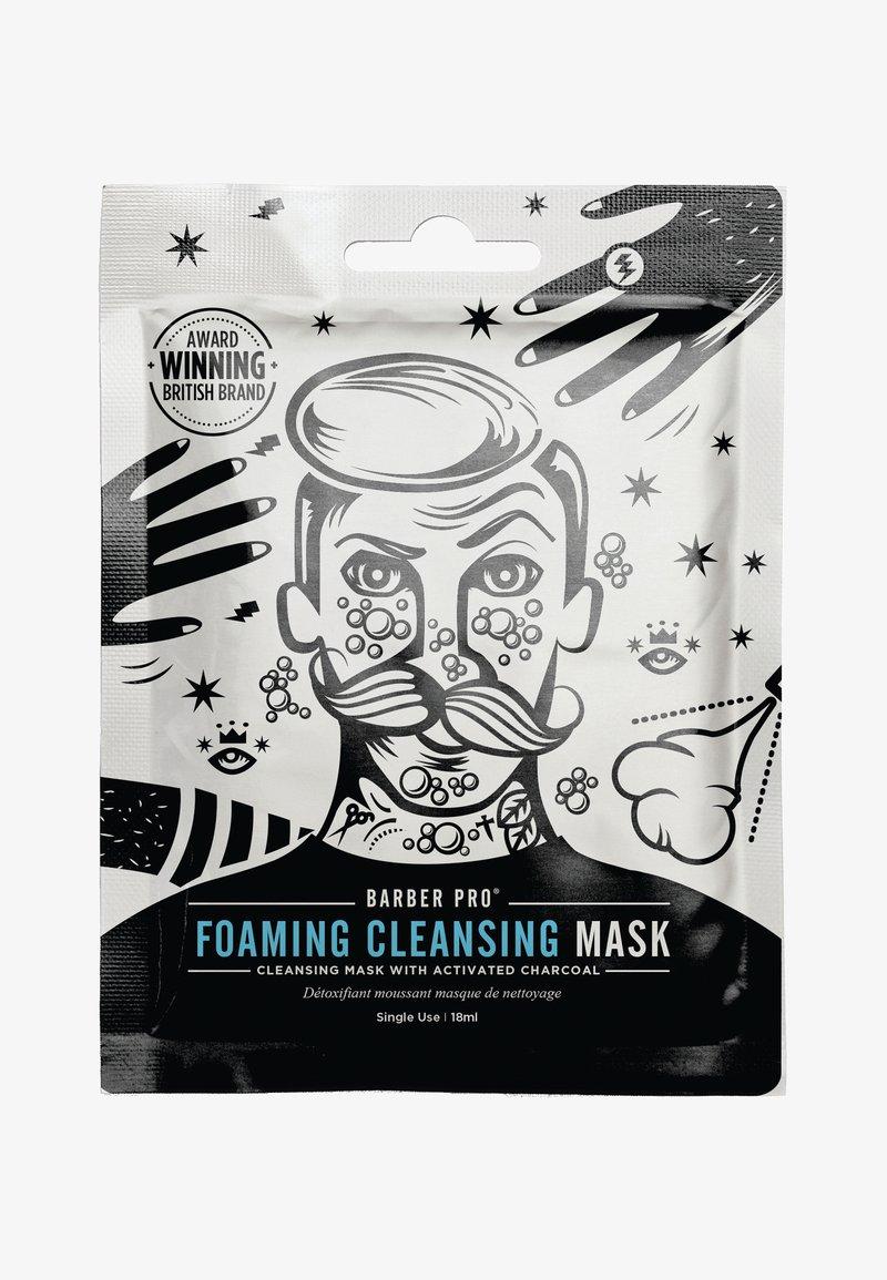 Barber Pro - FOAMING CLEANSING MASK 18ML - Masker - -