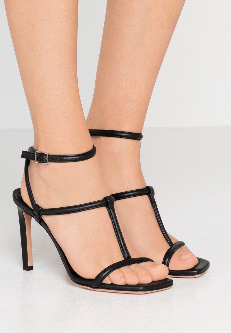 BOSS - ANDY  - High Heel Sandalette - black