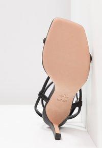 BOSS - ANDY  - Højhælede sandaletter / Højhælede sandaler - black - 6
