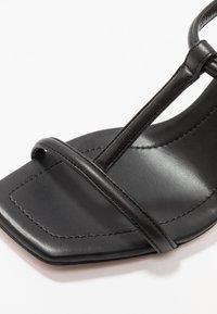 BOSS - ANDY  - Sandály na vysokém podpatku - black - 2