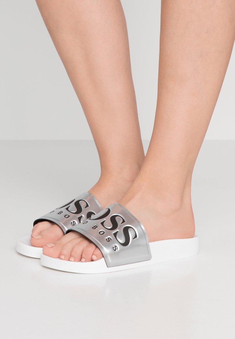 BOSS - SOLAR SLID - Slip-ins - silver