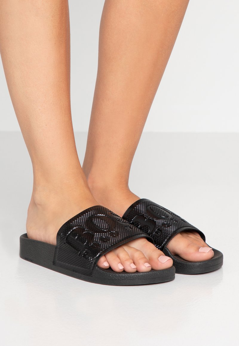 BOSS - SOLAR SLID - Mules - black