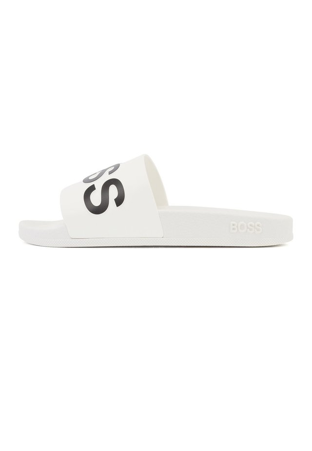 BAY_SLID_RBLG - Sandales de bain - white