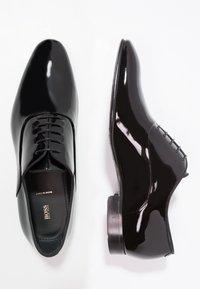 BOSS - EVENING - Elegantní šněrovací boty - black - 1