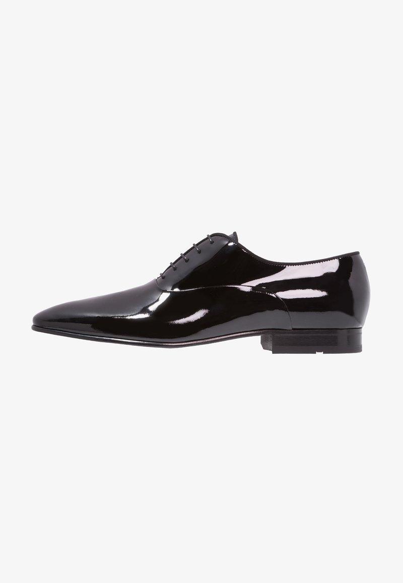 BOSS - EVENING - Elegantní šněrovací boty - black