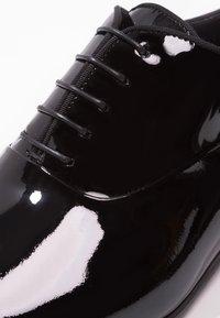 BOSS - EVENING - Elegantní šněrovací boty - black - 5