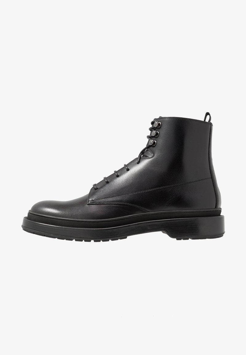BOSS - MONTREAL - Šněrovací kotníkové boty - black