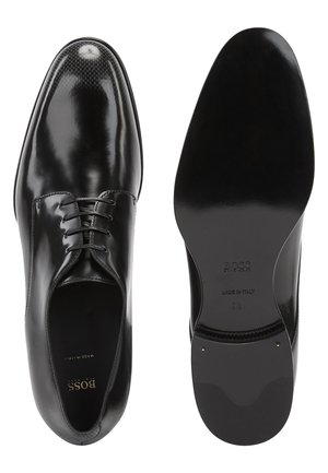 CANNES_DERB_BOHB - Derbies & Richelieus - black