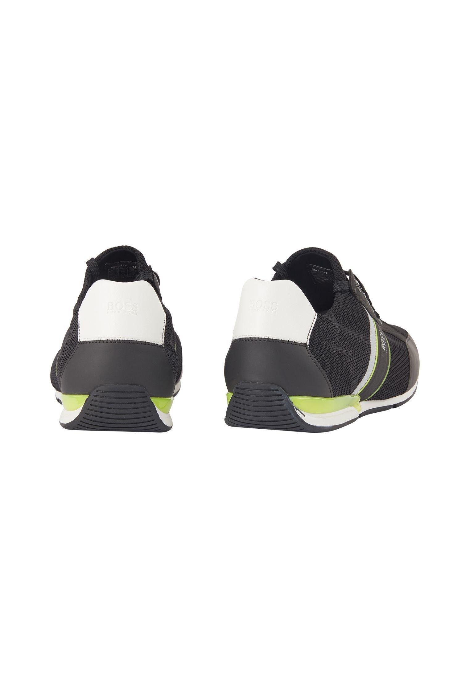 BOSS SATURN SLON MERB - Trainers - black