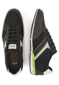 BOSS - SATURN SLON MERB - Trainers - black - 2