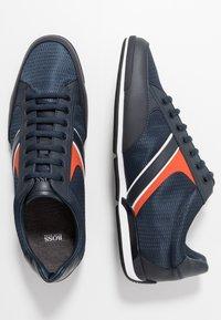 BOSS - SATURN - Sneakersy niskie - dark blue - 1