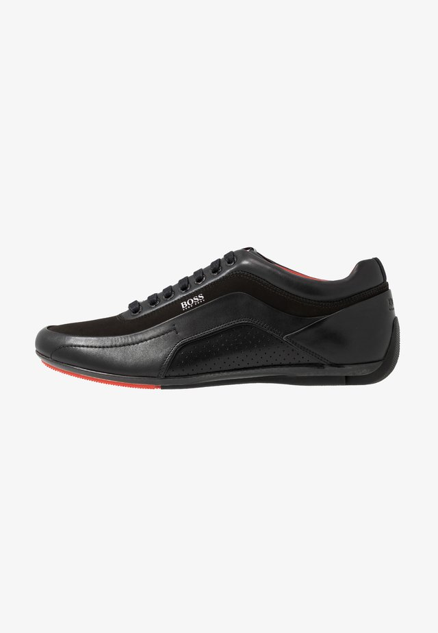 RACING - Sneakers basse - black
