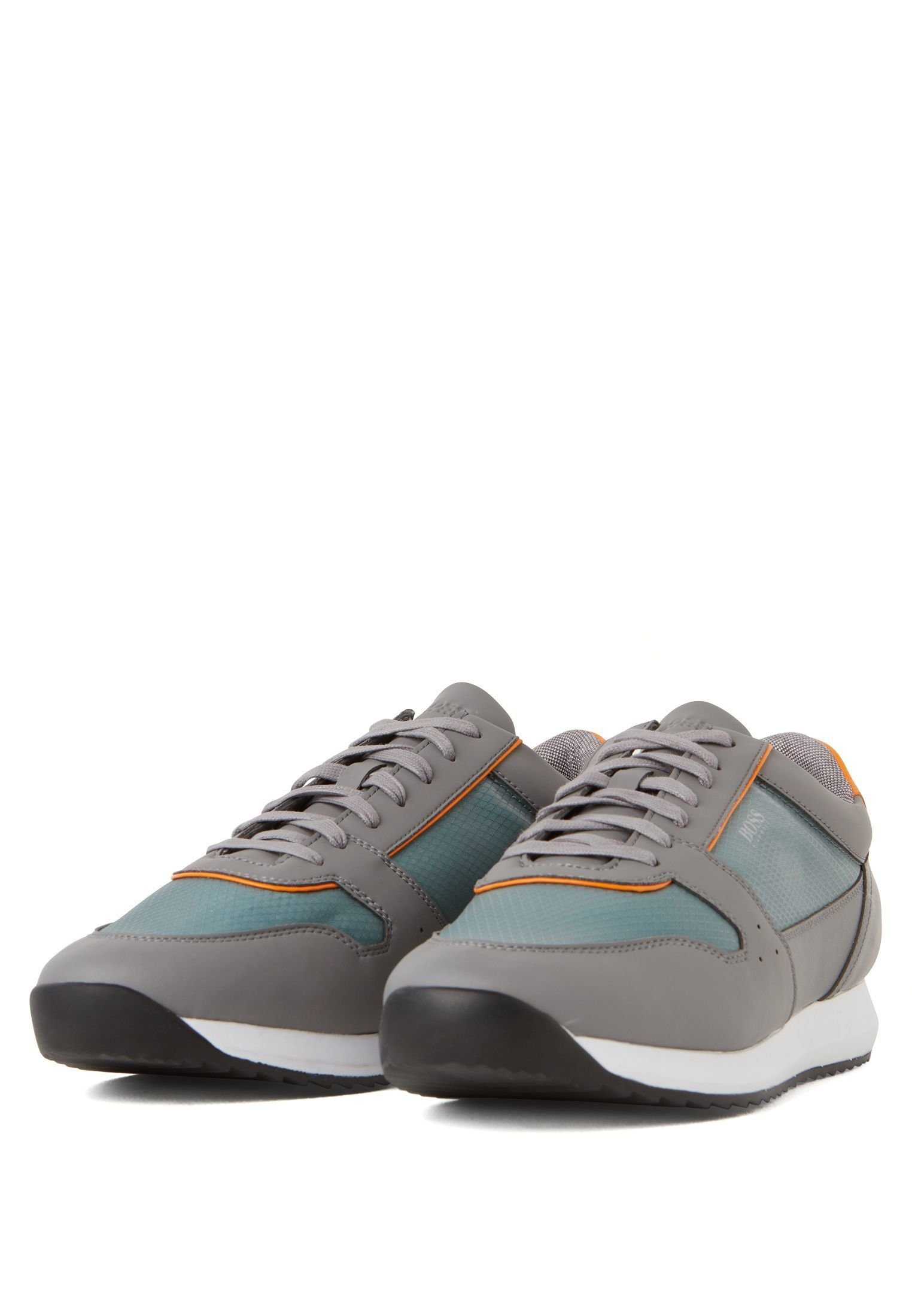 BOSS SONIC_RUNN_RBTR - Sneakers basse - open grey