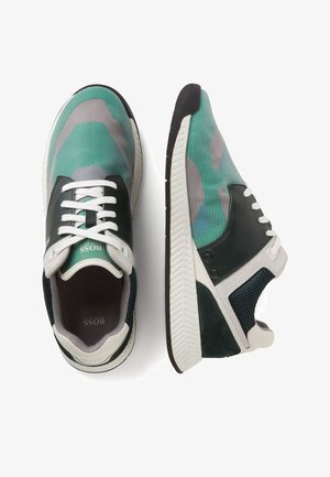 TITANIUM_RUNN_TRMX - Trainers - open green