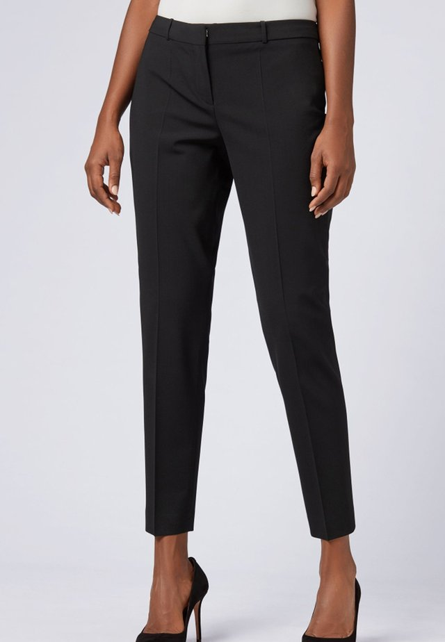 TILUNA - Pantalon classique - black