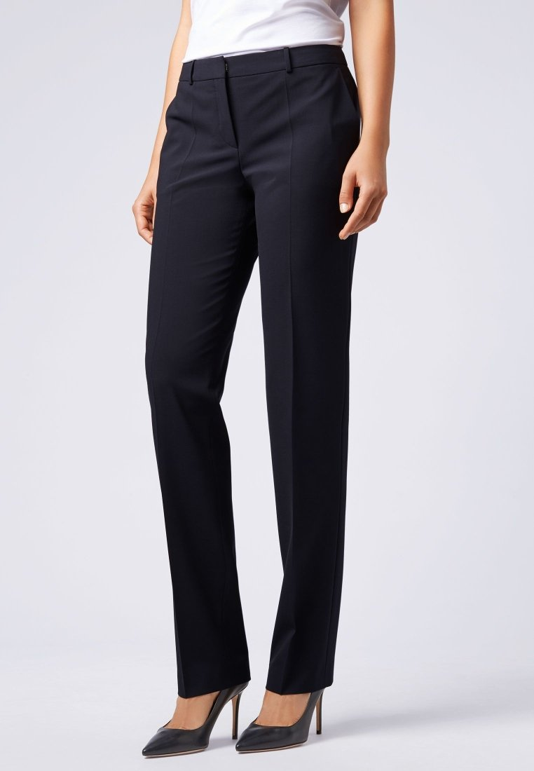 BOSS - TAMEA - Trousers - dark blue