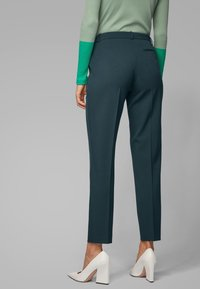 BOSS - TILUNA - Trousers - dark green - 2
