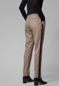 BOSS - TAHWA - Trousers - beige - 2