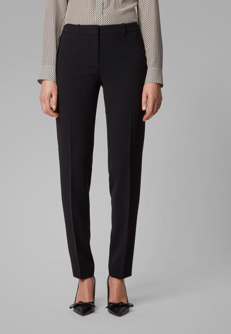 BOSS - TILUNI1 - Trousers - black