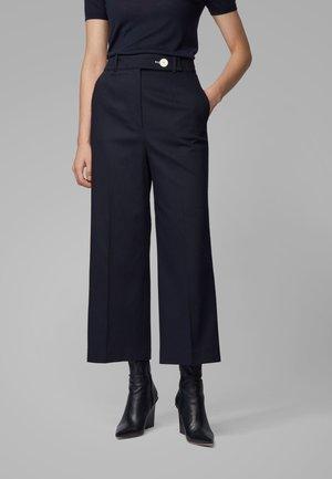 TAPIMA - Trousers - open blue