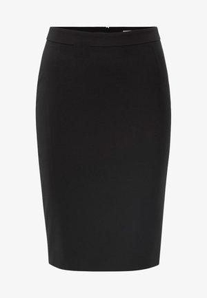 VILEA SLIM FIT - Pencil skirt - black