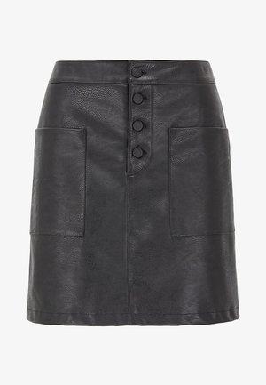 BISARA - A-line skirt - black