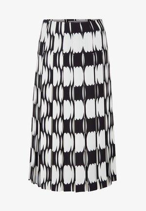 VAFALTA - A-snit nederdel/ A-formede nederdele - black
