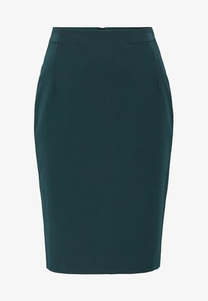 VAXINE - Pencil skirt - dark green