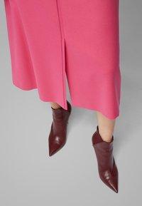 BOSS - VALUNIA - A-line skirt - pink - 3