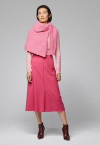 BOSS - VALUNIA - A-line skirt - pink - 1