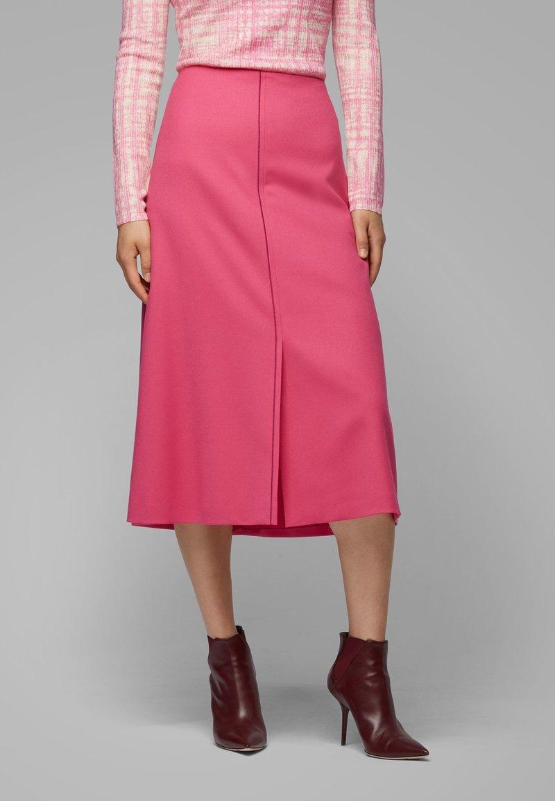 BOSS - VALUNIA - A-line skirt - pink