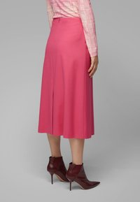 BOSS - VALUNIA - A-line skirt - pink - 2