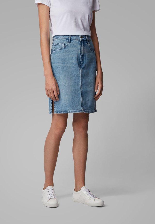 J90 ELGIN - Denim skirt - blue