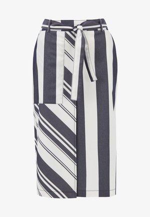 BRYTON - A-line skirt - patterned