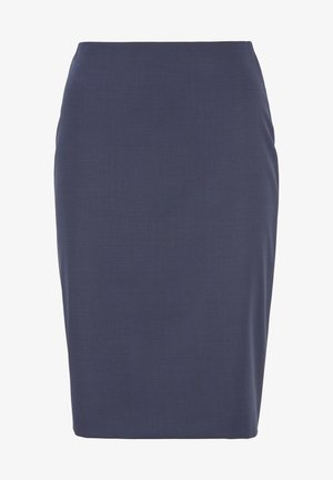 VIKENA - Pencil skirt - dark blue