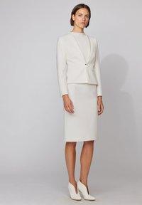 BOSS - VINOA - Pencil skirt - white - 1