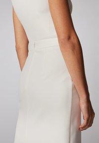 BOSS - VINOA - Pencil skirt - white - 3