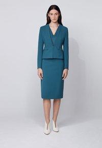 BOSS - VINOA - Pencil skirt - dark blue - 1