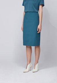 BOSS - VINOA - Pencil skirt - dark blue - 0