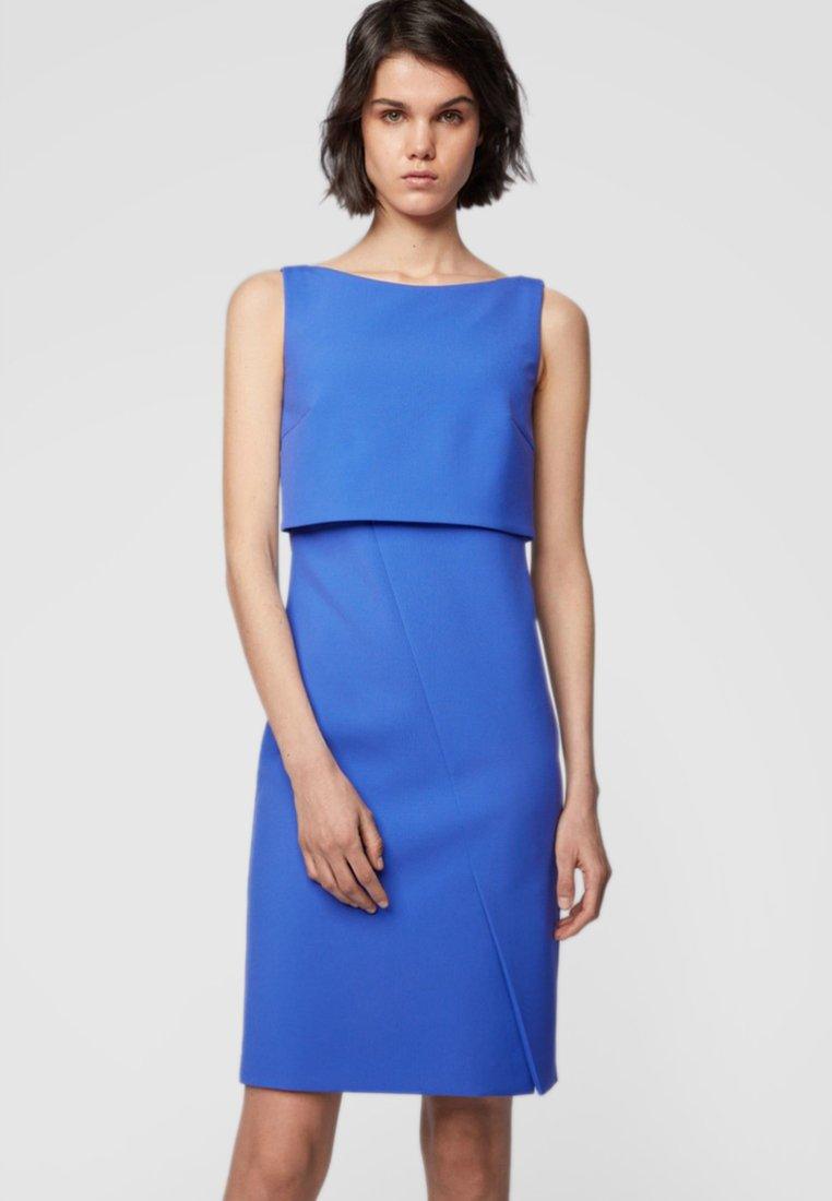 BOSS - DANTIA - Etuikleid - blue