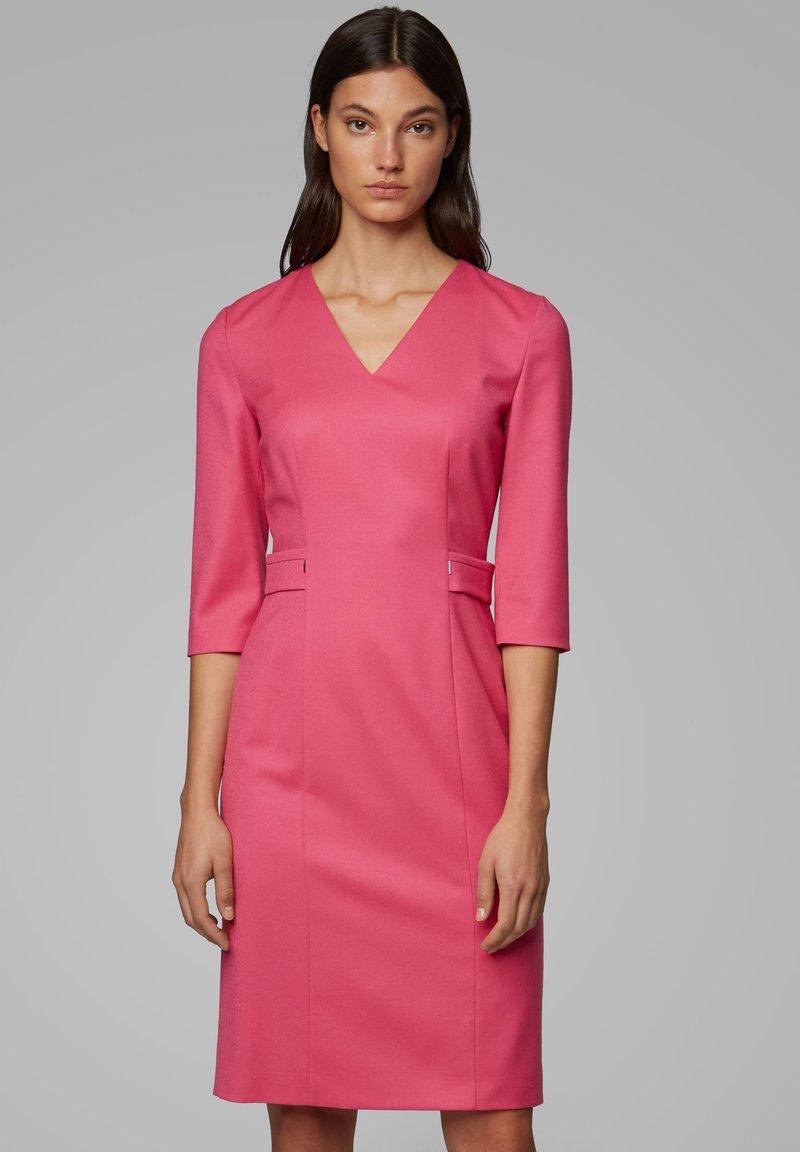 BOSS - DAZINA - Shift dress - pink