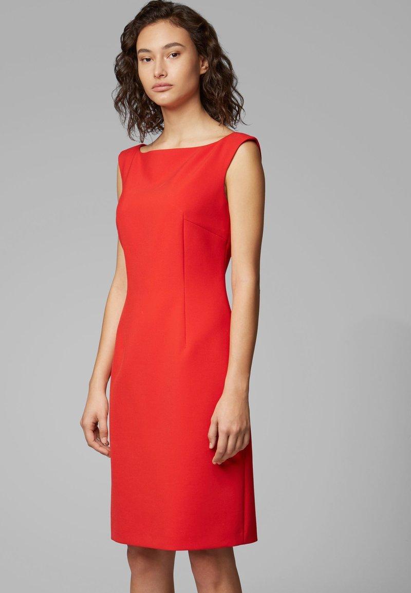 BOSS - DIKIVA - Shift dress - red