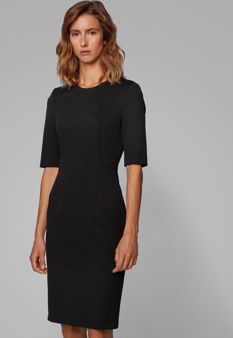 BOSS - DAXINE - Shift dress - black