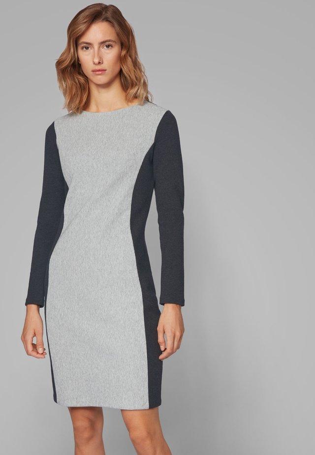 DACONTRAST - Gebreide jurk - dark grey