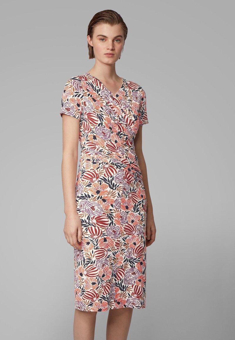 BOSS - ERYKAH - Shift dress - patterned