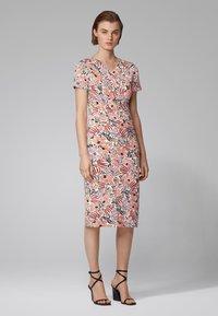 BOSS - ERYKAH - Shift dress - patterned - 1