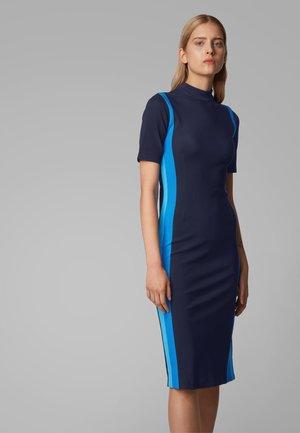 EDIANNE - Shift dress - open blue
