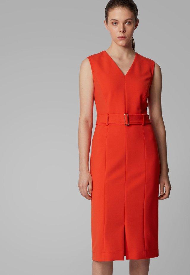 DADORINA - Robe d'été - orange