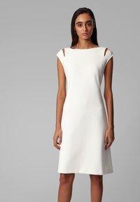 BOSS - DILEKY - Shift dress - natural - 0