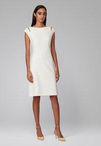 BOSS - DILEKY - Shift dress - natural - 1